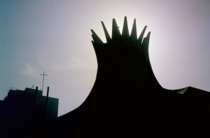 Crown of the Anglican Cathedral in Cairo